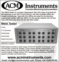 Gill 12 Weld Tester - NACE MP Advert February 2018