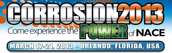 Click to view NACE Corrosion 2013 at Orlando