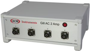 Gill AC with 2 Amp option and 4 Channels