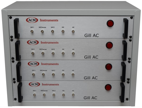 Four Gill ACs housed in Rack Mountable Unit